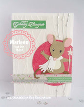 Marianne Design Collectables Eline' Mice Family
