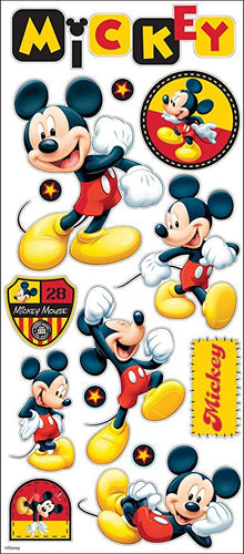 Stickers, Large - Mickey