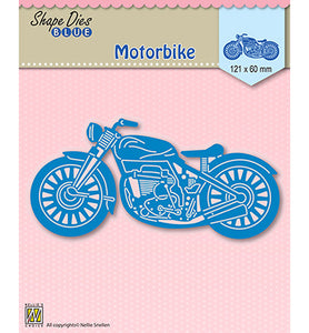 "Nellie's Choice - Hobby Solutions Die Cut ""Motorbike"""