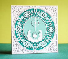 Nativity Circle craft die