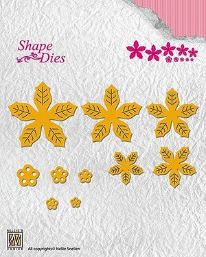 Nellie's Choice - Shape Die Poinsettia
