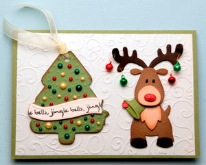 Marianne Design: Collectables Die Set - Eline's Reindeer - Christmas