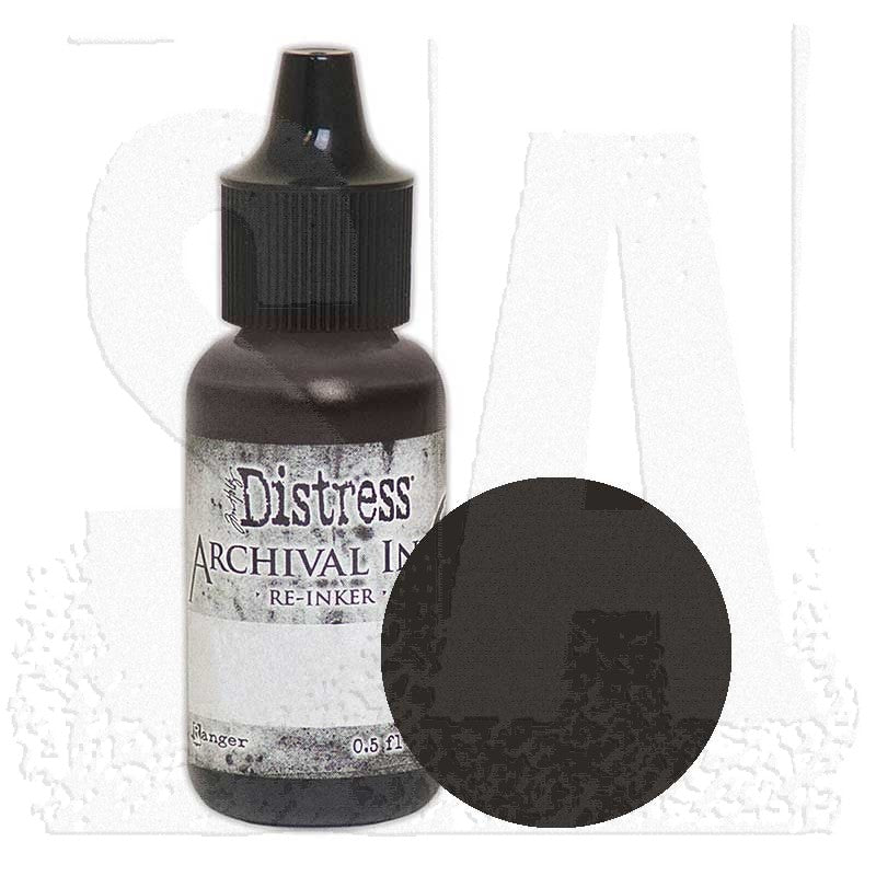 Tim Holtz Distress Archival Reinkers  -  .05ozBottle