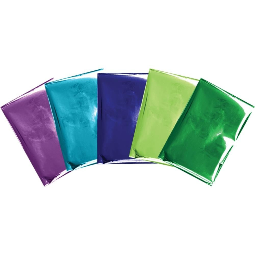 FOIL SHEETS - WR - FOIL QUILL - 4 X 6 INCH SHEETS - PEACOCK (30 PIECE)