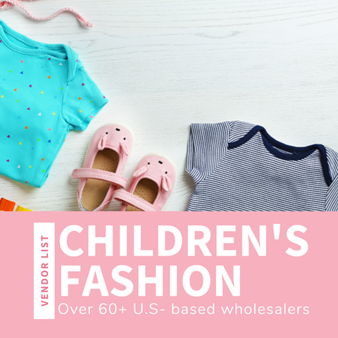 Infant & Children's Fashion Wholesaler List (USA)