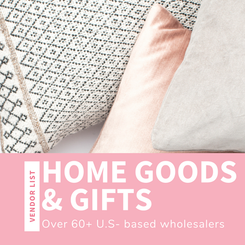 Home Goods & Gifts Wholesaler List (USA)