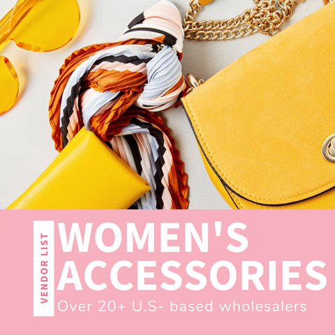 Women's Accessories Wholesaler List (USA)