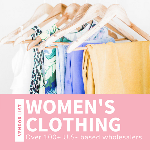 Women's Clothing Wholesale Vendor List (USA)