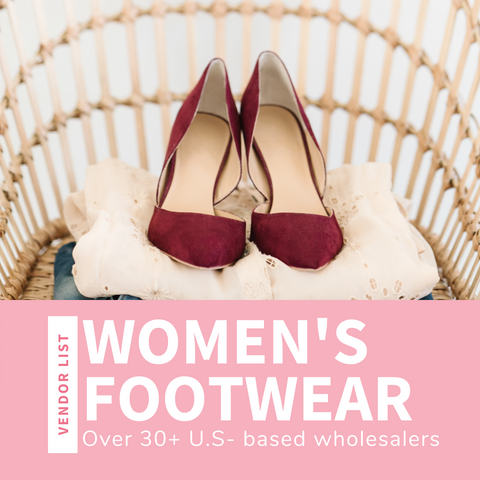 Women's Footwear Wholesaler List (USA)