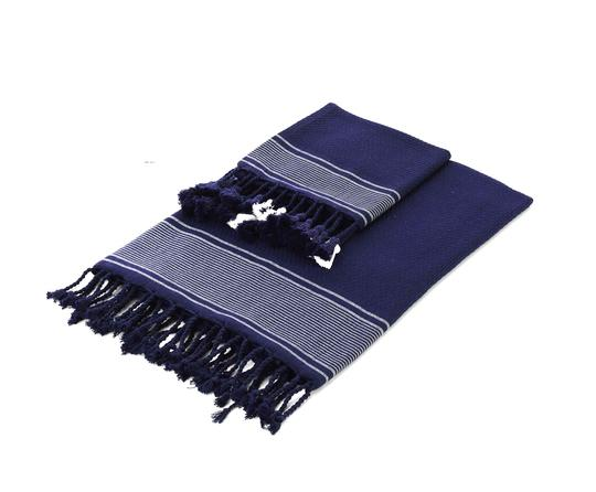 Turkish Towel with Fringe - Hand