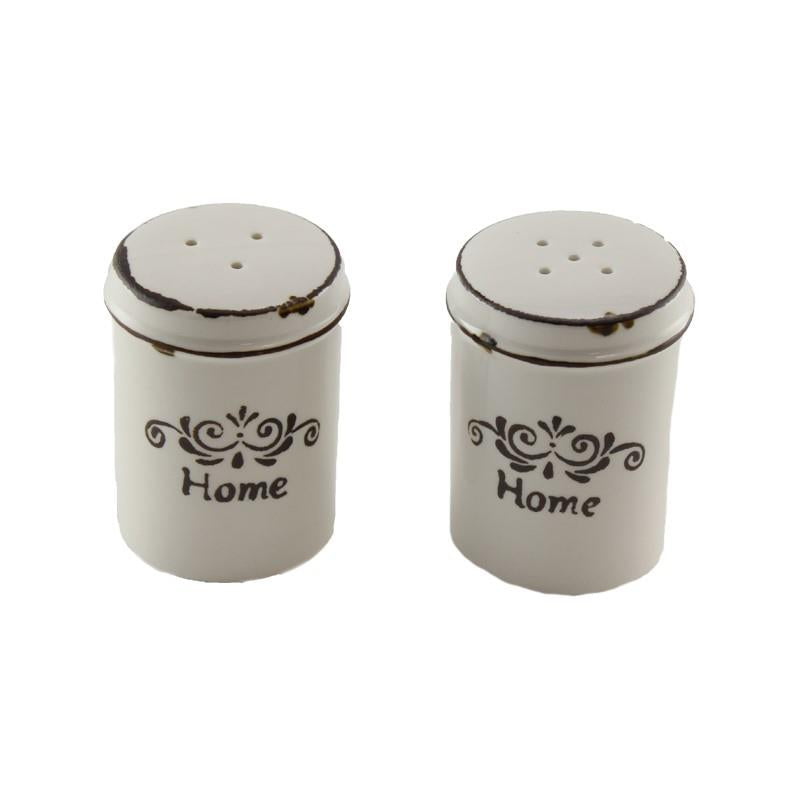 Country Style Salt and Pepper