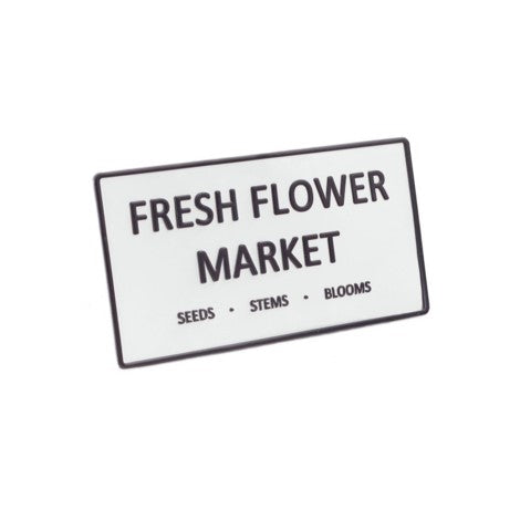 Fresh Flower Wall Plaque