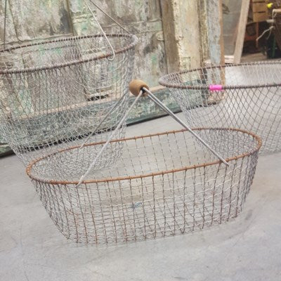 Antique German Egg Basket