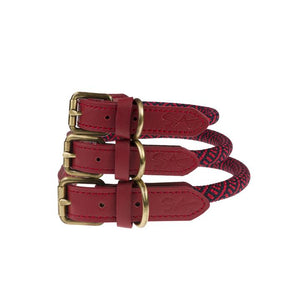 Rope Collar - Red - Small