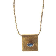 Load image into Gallery viewer, BURSA LABRADORITE NECKLACE