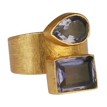 ELIF IOLITE RING