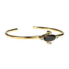Load image into Gallery viewer, PHILIAS BLACK BANGLE