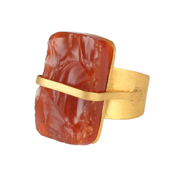 CARTAGO CARNELIAN RING