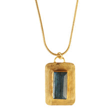 Load image into Gallery viewer, EGEO LABRADORITE NECKLACE
