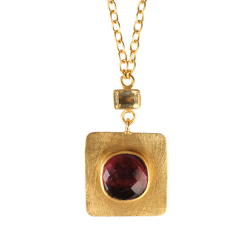 MARMARA GARNET NECKLACE
