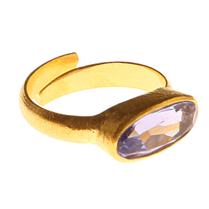 AGRA IOLITE RING