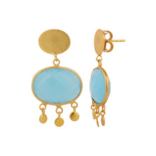 Load image into Gallery viewer, ALEXANDRIA BLUE EARRINGS