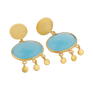 ALEXANDRIA BLUE EARRINGS