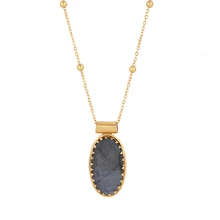 Load image into Gallery viewer, ELDORADO LABRADORITE NECKLACE