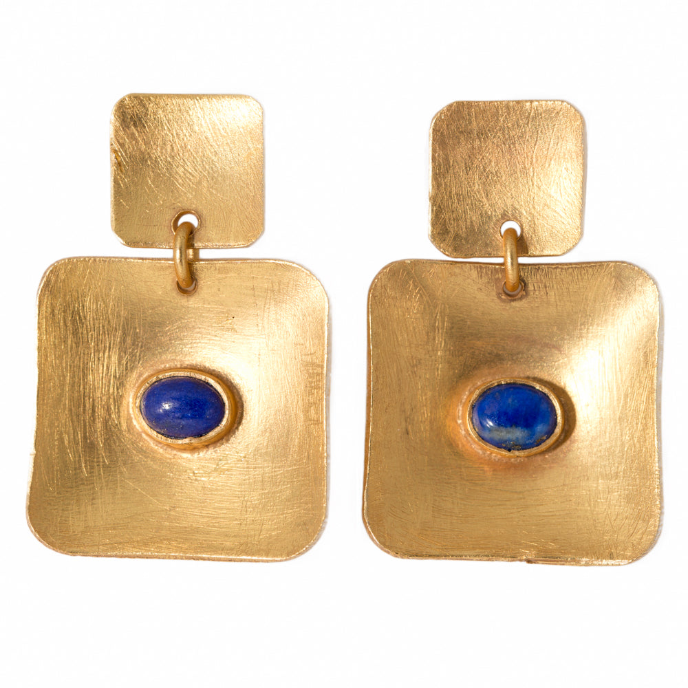 MARDIN LAPIS LAZULI EARRINGS