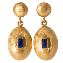 Load image into Gallery viewer, TORINO LAPIS LAZULI EARRING