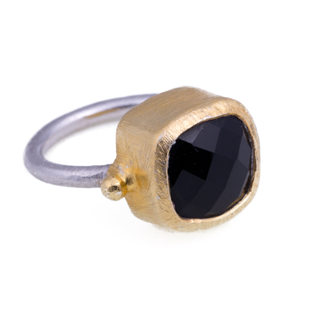NAPOLI BLACK ONYX RING