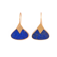 Load image into Gallery viewer, JAISALMER LAZULI EARRINGS