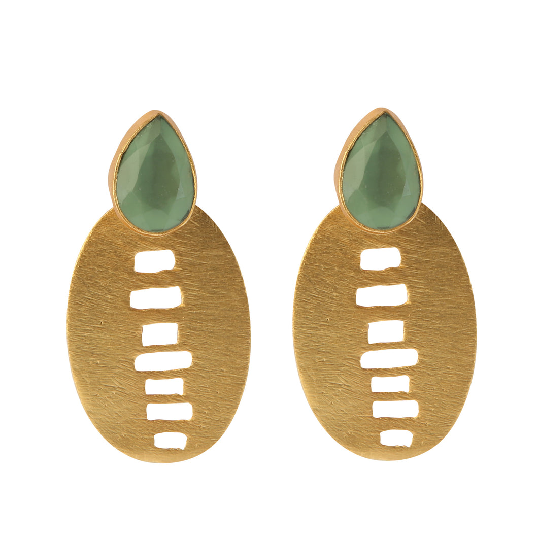 BARCINO GREEN EARRINGS