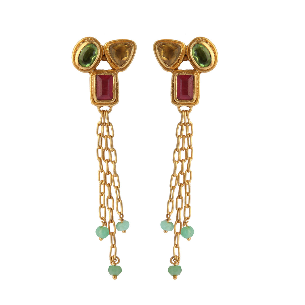 CARTAGO MULTISTONES EARRINGS
