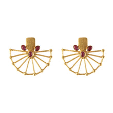 Load image into Gallery viewer, LEBANON RUBY EARRINGS