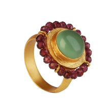 Load image into Gallery viewer, PERGAMO PREHNITE RING