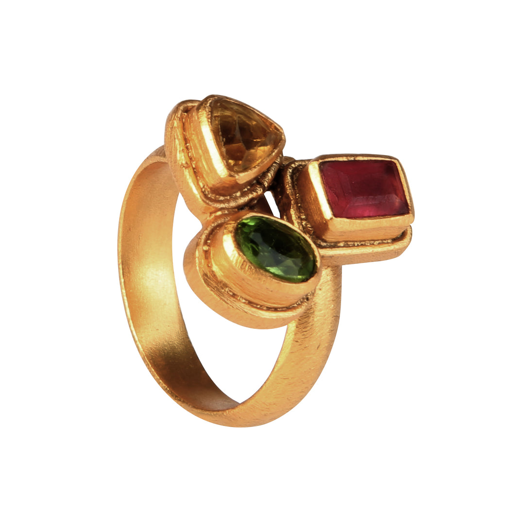 CARTAGO MULTISTONES RING