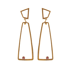 Load image into Gallery viewer, OSLO TOURMALINE EARRINGS