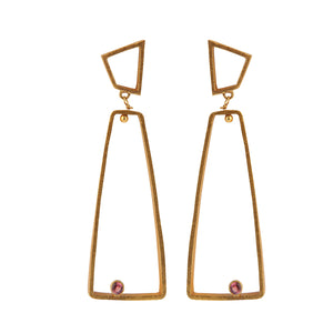 OSLO TOURMALINE EARRINGS