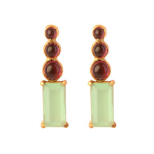 Load image into Gallery viewer, MARMARIS PREHNITE EARRING