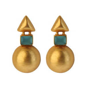 TRACIA BLUE EARRINGS