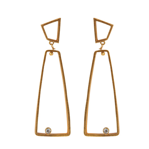 OSLO ZIRCON EARRINGS