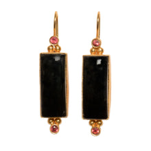 Load image into Gallery viewer, SALONICA BLACK ONYX EARRINGS