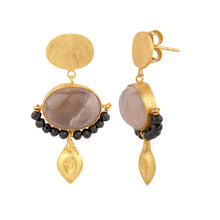 Load image into Gallery viewer, RENAISSANCE ROSE EARRINGS