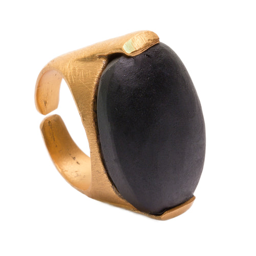 SIENA BLACK ONYX RING
