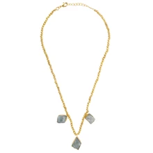 Load image into Gallery viewer, PETRA AQUAMARINE NECKLACE