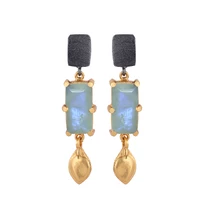 BALI MOONSTONE EARRINGS