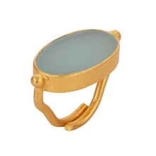 Load image into Gallery viewer, ELDORADO AQUA CHALCY RING