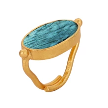 Load image into Gallery viewer, ELDORADO LABRADORITE RING