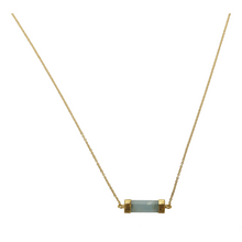 Load image into Gallery viewer, CANNES AQUAMARINE NECKLACE